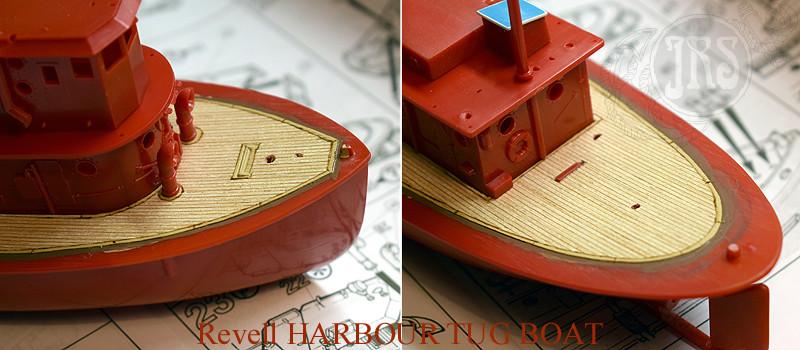 Harbour Tug Boat / Revell, 1:108* Tug_0014