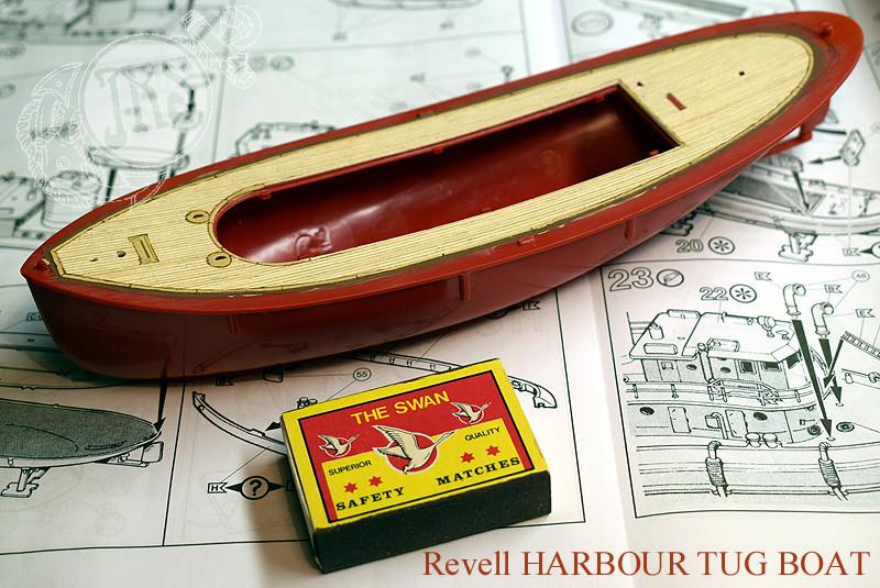 Harbour Tug Boat / Revell, 1:108* Tug_0015