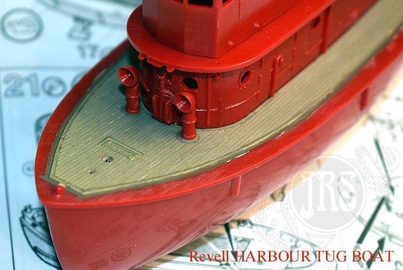 Harbour Tug Boat / Revell, 1:108* Tug_0016