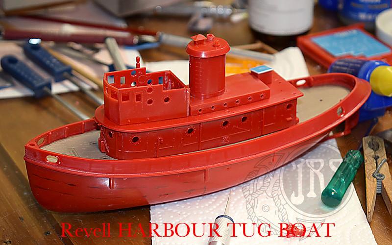 Harbour Tug Boat / Revell, 1:108* Tug_0017