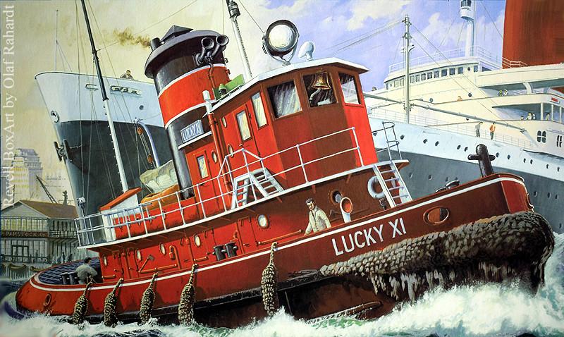 Harbour Tug Boat / Revell, 1:108* Tug_0018