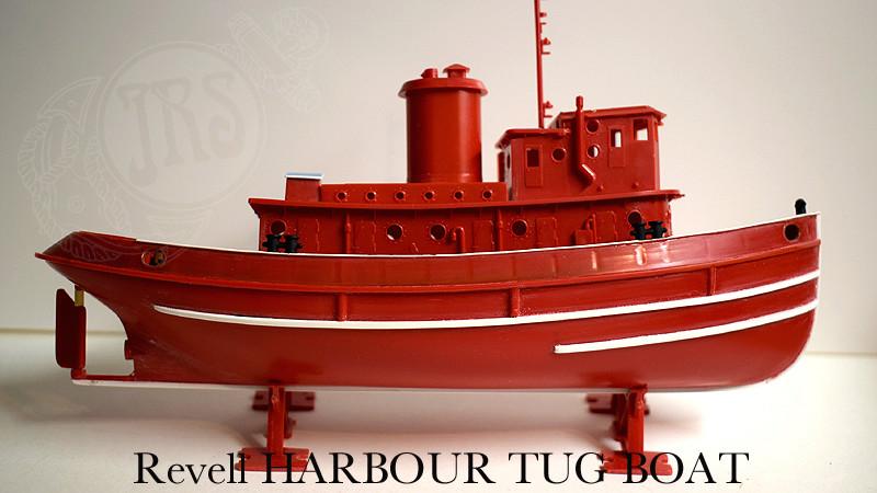 Harbour Tug Boat / Revell, 1:108* Tug_0020
