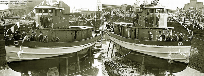 Harbour Tug Boat / Revell, 1:108* Tug_0112