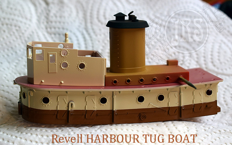 Harbour Tug Boat / Revell, 1:108* Tug_0113