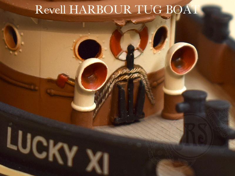 Harbour Tug Boat / Revell, 1:108* Tug_0114