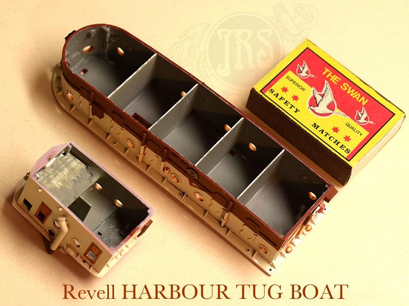 Harbour Tug Boat / Revell, 1:108* Tug_0115