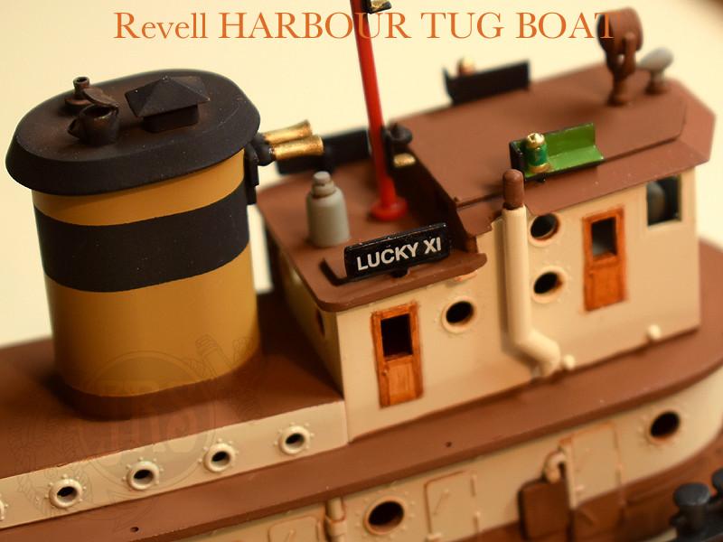 Harbour Tug Boat / Revell, 1:108* Tug_0117
