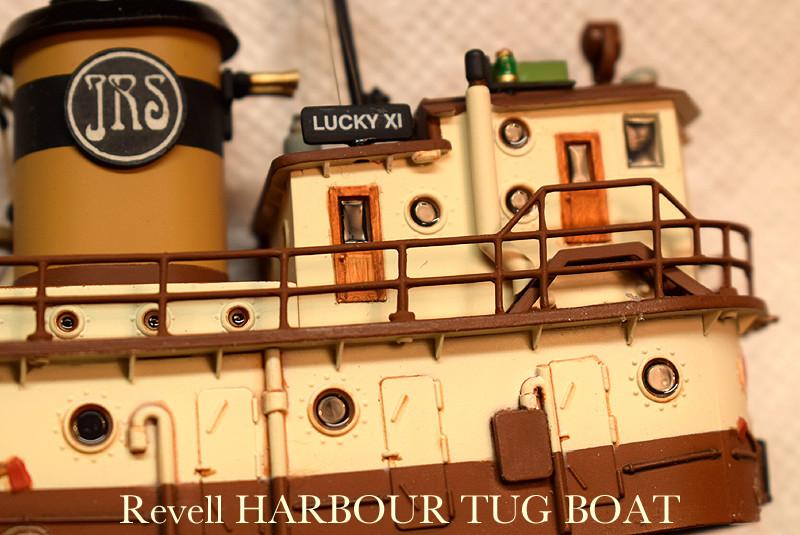 Harbour Tug Boat / Revell, 1:108* Tug_0211