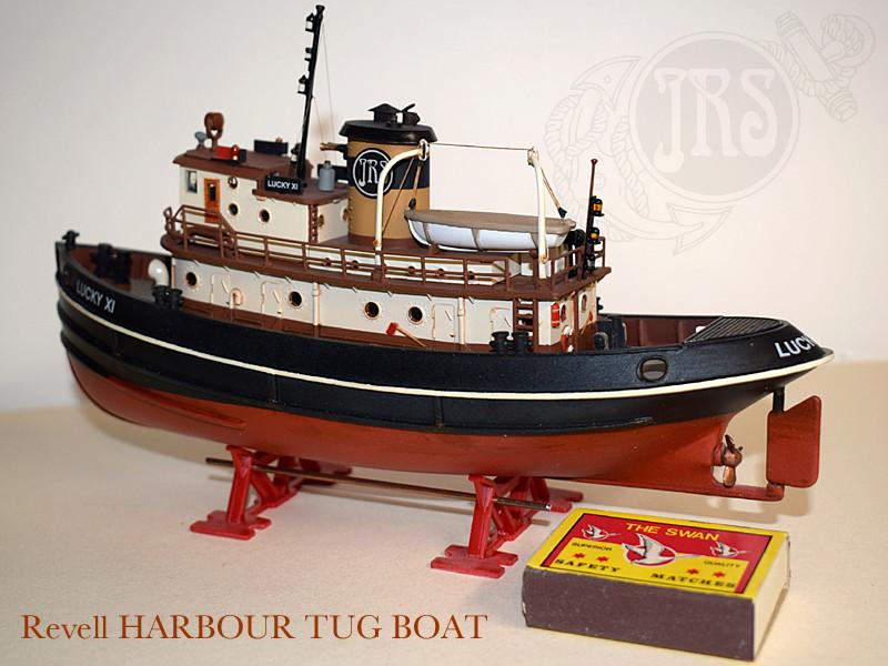 Harbour Tug Boat / Revell, 1:108* Tug_0216