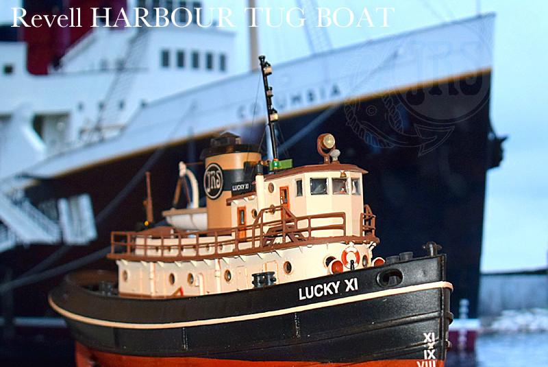 Harbour Tug Boat / Revell, 1:108* Tug_0219