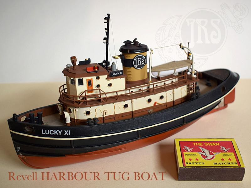 Harbour Tug Boat / Revell, 1:108* Tug_0310