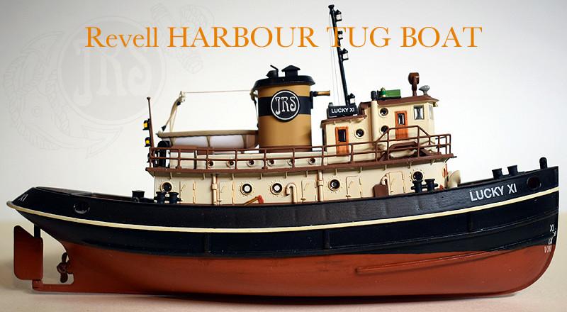 Harbour Tug Boat / Revell, 1:108* Tug_0311