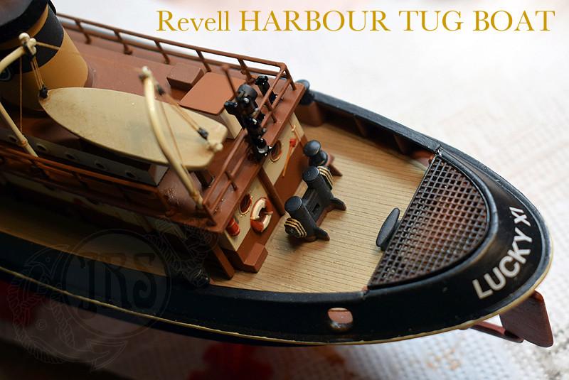Harbour Tug Boat / Revell, 1:108* Tug_0312