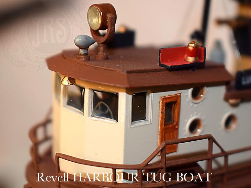 Harbour Tug Boat / Revell, 1:108* Tug_0313