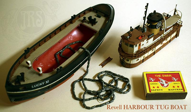 Harbour Tug Boat / Revell, 1:108* Tug_0317