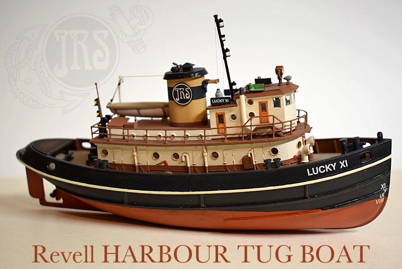 Harbour Tug Boat / Revell, 1:108* Tug_0318