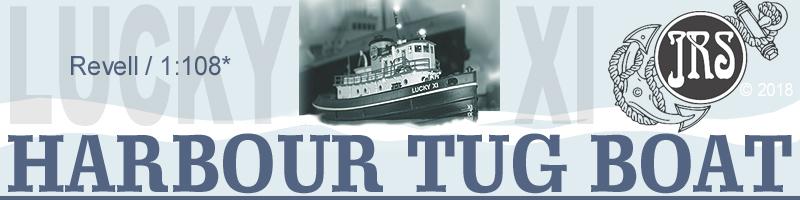 Harbour Tug Boat / Revell, 1:108* Tug_ti10