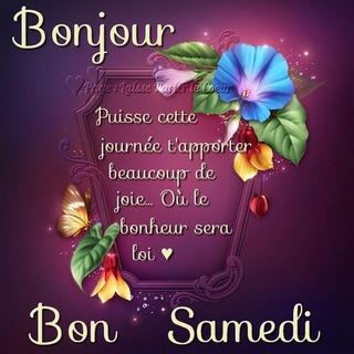 Bonjour du jour et bonsoir du soir - Page 30 Samedi21