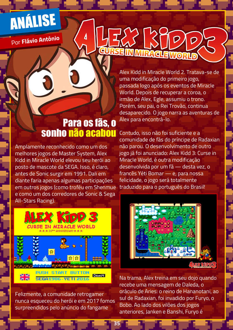 Alex Kidd 2: Curse in Miracle World - Page 20 Revist10