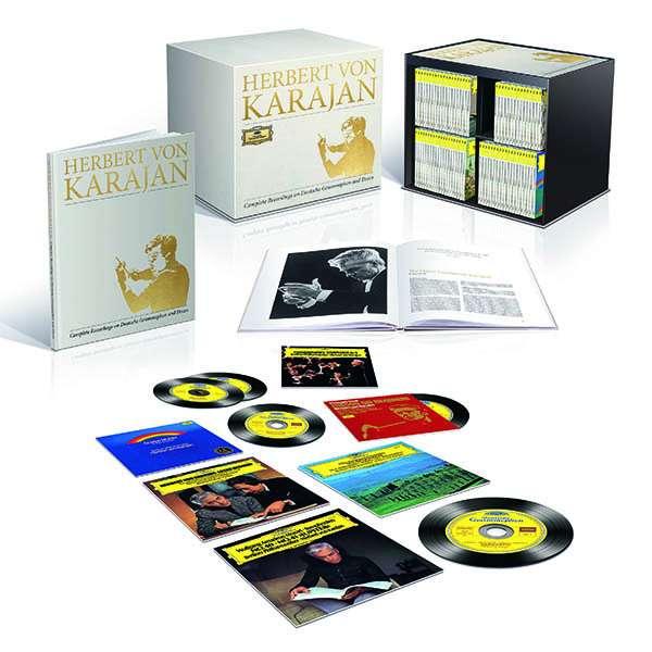 Herbert von Karajan - Complete Recordings on Deutsche Grammophon & Decca 00289410