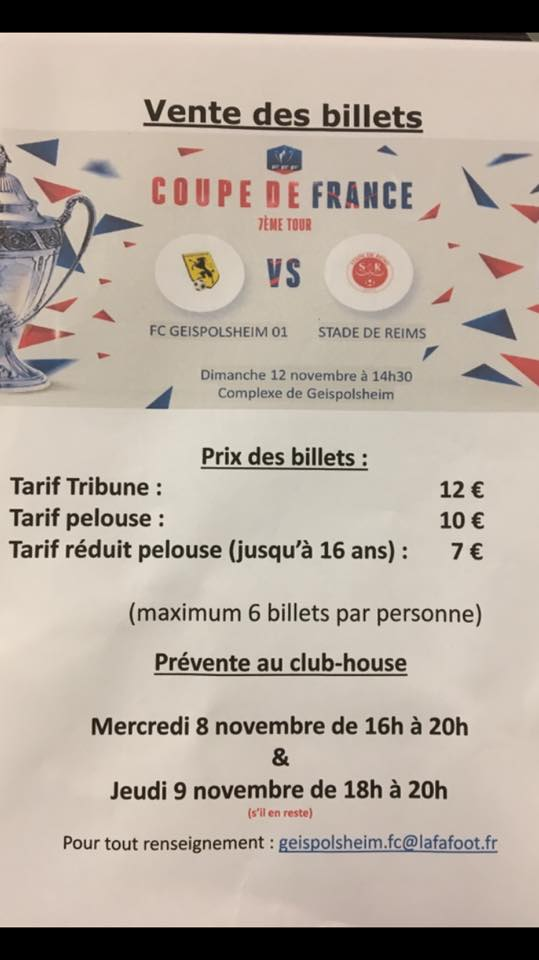 CF (7e) : Geispolsheim 0-2 Reims Billet10