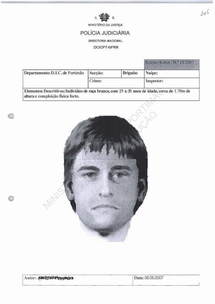 'Suspect/Sighting of the Day': A list of known suspects in the Madeleine McCann case 01_vol10
