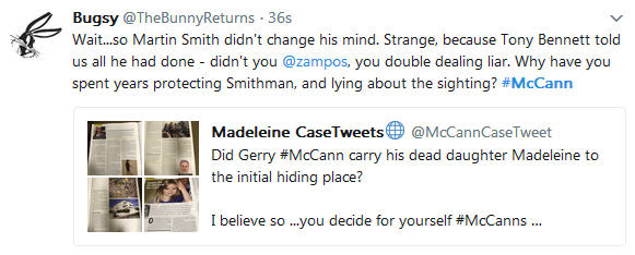 Gemma O'Doherty: 'Maddie: Did the BBC bend the truth?' 1018