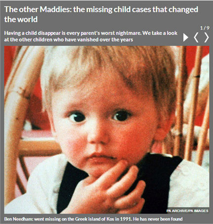 The other Maddies:  the missing child cases that changed the world 1106