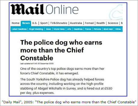 """Sniffer-dogs, the campaign against Eddie and Keela and """"Vanity Fair"""" story about Maddie  160"""