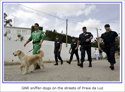 """Sniffer-dogs, the campaign against Eddie and Keela and """"Vanity Fair"""" story about Maddie  238"""