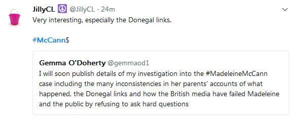 Gemma O'Doherty investigative journalist will soon publish details of her investigation into the Madeleine McCann case 440