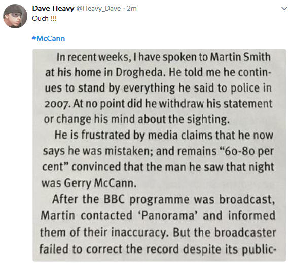 Gemma O'Doherty: 'Maddie: Did the BBC bend the truth?' 634