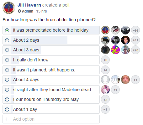PLANNING THE ABDUCTION HOAX. Was it done over four days, or four hours? - Page 2 Poll11