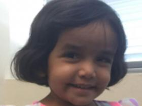 Father of missing 3-year-old Sherin Mathews charged after child's body found Sherin10