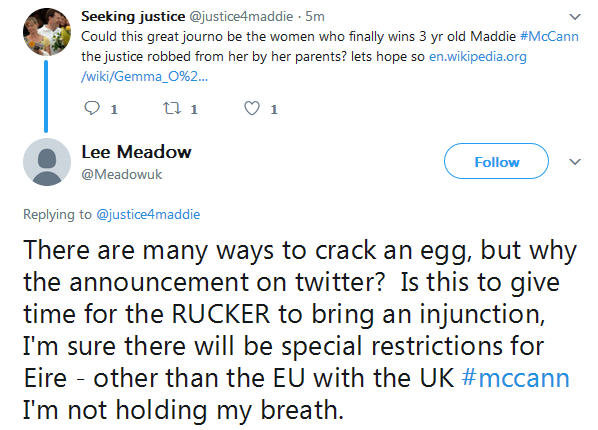 Gemma O'Doherty investigative journalist will soon publish details of her investigation into the Madeleine McCann case Sj10
