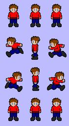 Character pour jeu de plateforme de Berka Lpb310