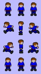 Character pour jeu de plateforme de Berka Lpb410