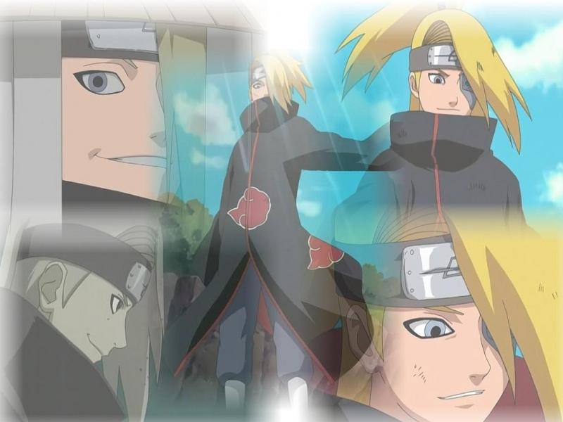 Naruto : la présentation des personnages - Page 4 Deidar10
