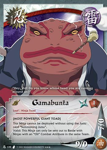 Naruto : la présentation des personnages - Page 5 Gamabu10