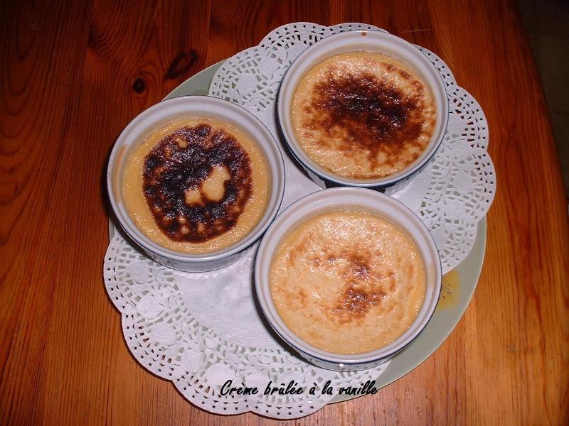 Crème brûlée à la vanille + photo Dscf0010