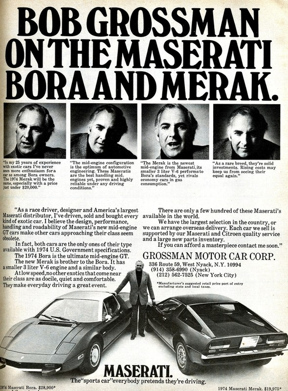 Vecchie pubblicità Maserati Bobmer10