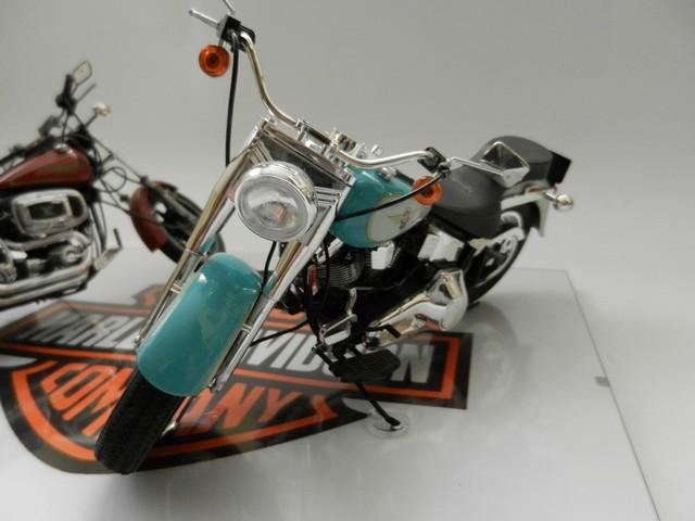 Moto Harley-Davidson - Modèle FLSTF Fat Boy 00515