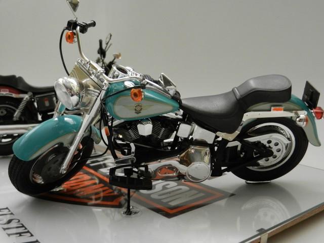 Moto Harley-Davidson - Modèle FLSTF Fat Boy 00614