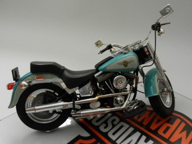 Moto Harley-Davidson - Modèle FLSTF Fat Boy 00910