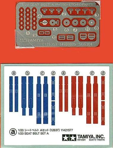 Ceintures de sécurité pour maquettes 1:20 2905_r10