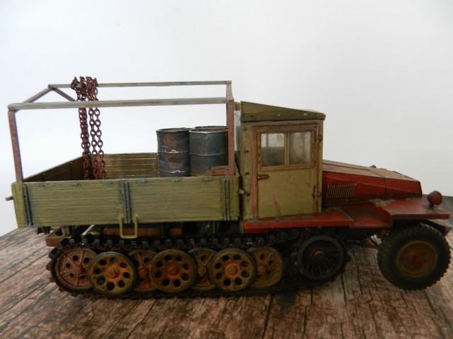 Semi-chenillé SdKfz 11 leichter Zugkraftwagen 3 t Dscn8440