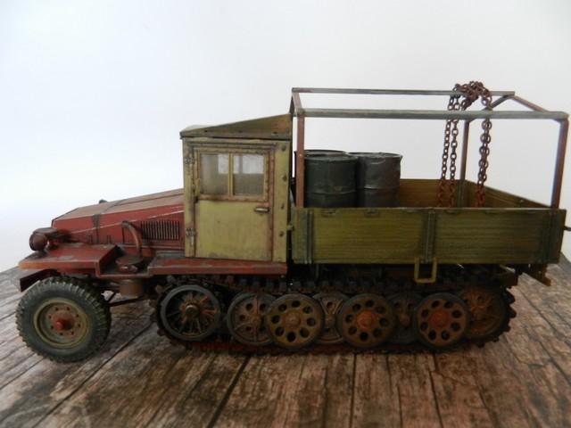 Semi-chenillé SdKfz 11 leichter Zugkraftwagen 3 t Dscn8441