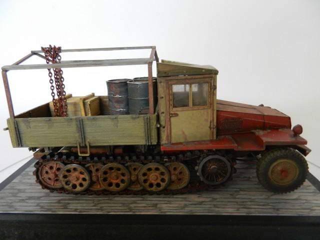 Semi-chenillé SdKfz 11 leichter Zugkraftwagen 3 t Dscn8442