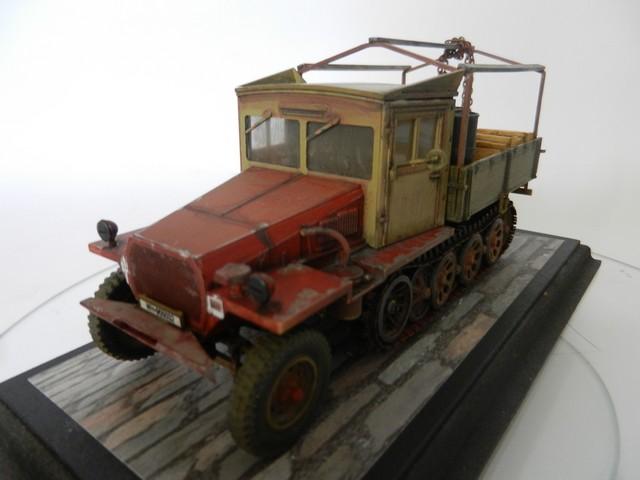 Semi-chenillé SdKfz 11 leichter Zugkraftwagen 3 t Dscn8446