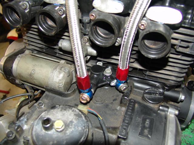 radiateur d'huile sur 1000J Dsc05419